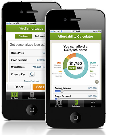 Trulia Mortgage iPhone App