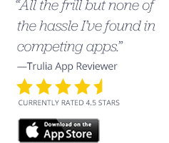Find An Apartment On The Go With The Top Rated Trulia Rentals App. With  Just A Tap, View Nearby Homes And Apartments For Rent, Check Out  Neighborhood ...
