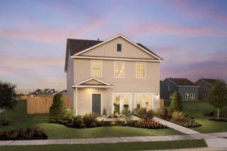 Ridley Plan in Colorado Crossing : Cottage Collection, Austin, TX 78744