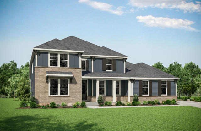 Crestwood Plan in Ironstone - The Preserve - 100 ... on