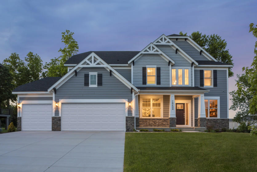 Excellent Woodside Plan In Aspen Hollow Plymouth Mn 55446 4 Bed 2 Home Interior And Landscaping Mentranervesignezvosmurscom