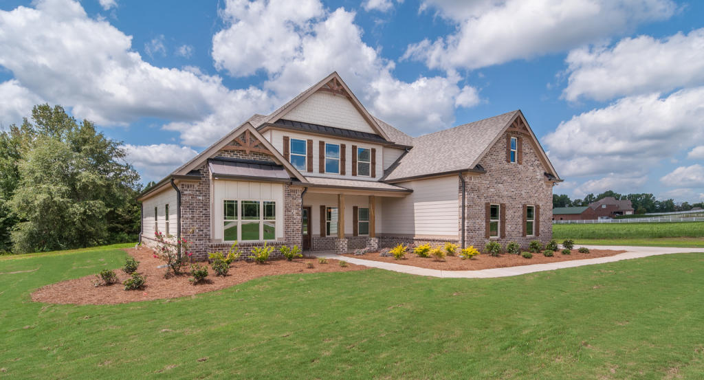 Shoal Creek II Plan in Riata, Forsyth, GA 31029 - 4 Bed, 3 ... on craftsman style homes with plantation shutters, craftsman style homes with metal roof, craftsman style homes with basement, craftsman style homes with front porch, craftsman style homes with garage,