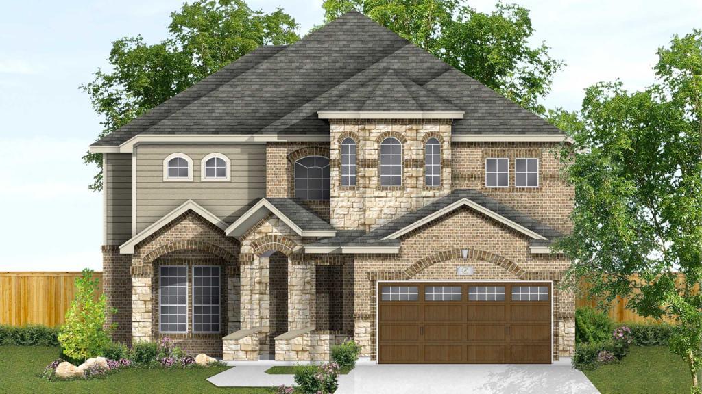 Jasmine Plan in West Pointe Gardens, San Antonio, TX 78245 ... on cream home, mint home, cypress home, victoria home, lucy home,