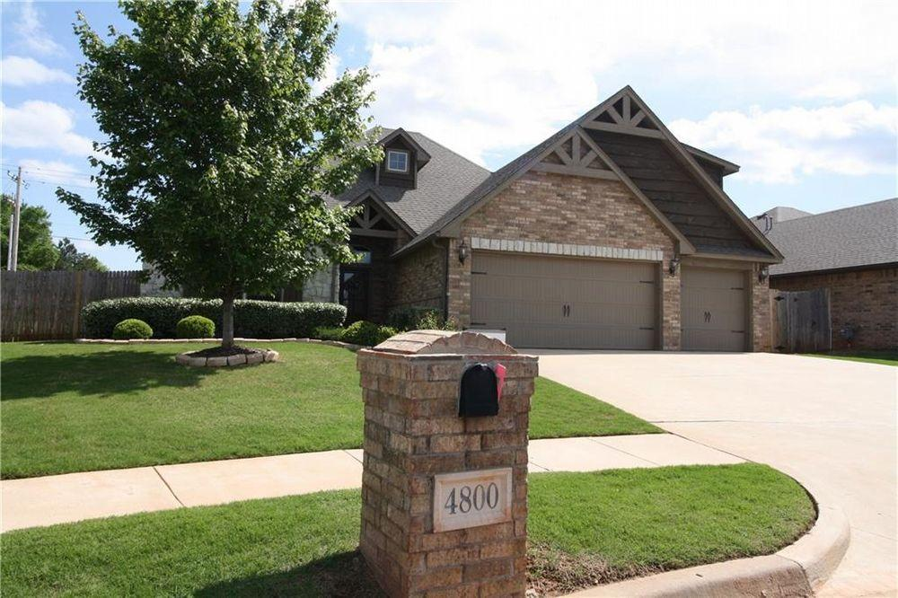 Marvelous 4800 Nw 151St Cir Edmond Ok 4 Bed 2 5 Bath Single Home Interior And Landscaping Ologienasavecom