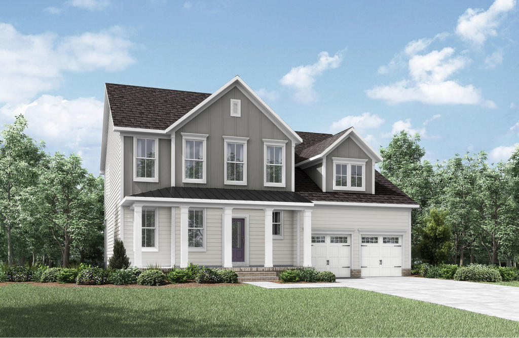Hadley Plan in Willoughby, Rolesville, NC 27571 - 3 Bed, 2.5 ... on