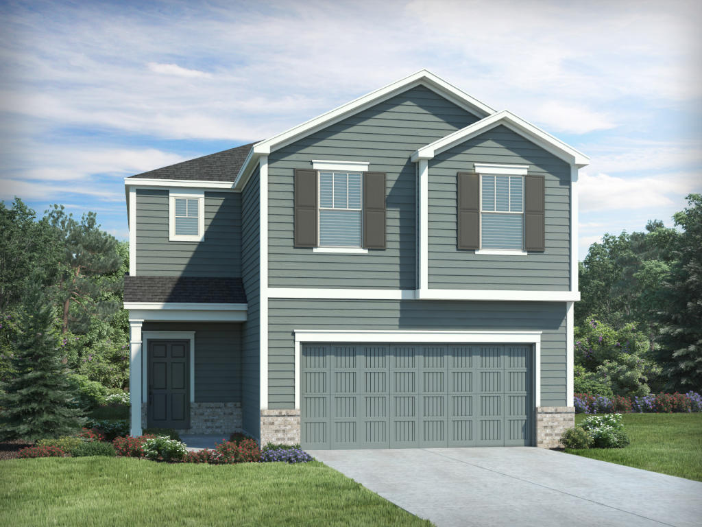 Decatur Plan in Lakeview, Fuquay Varina, NC 27526 - 3 Bed