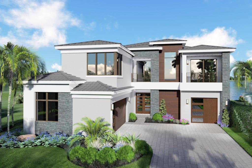 Laguna Plan in Lotus, Boca Raton, FL 33496 - 5 Bed, 5.5 Bath ... on townhouse plans florida, kitchen cabinets florida, cottage plans florida, open floor plans florida, swimming pool plans florida,