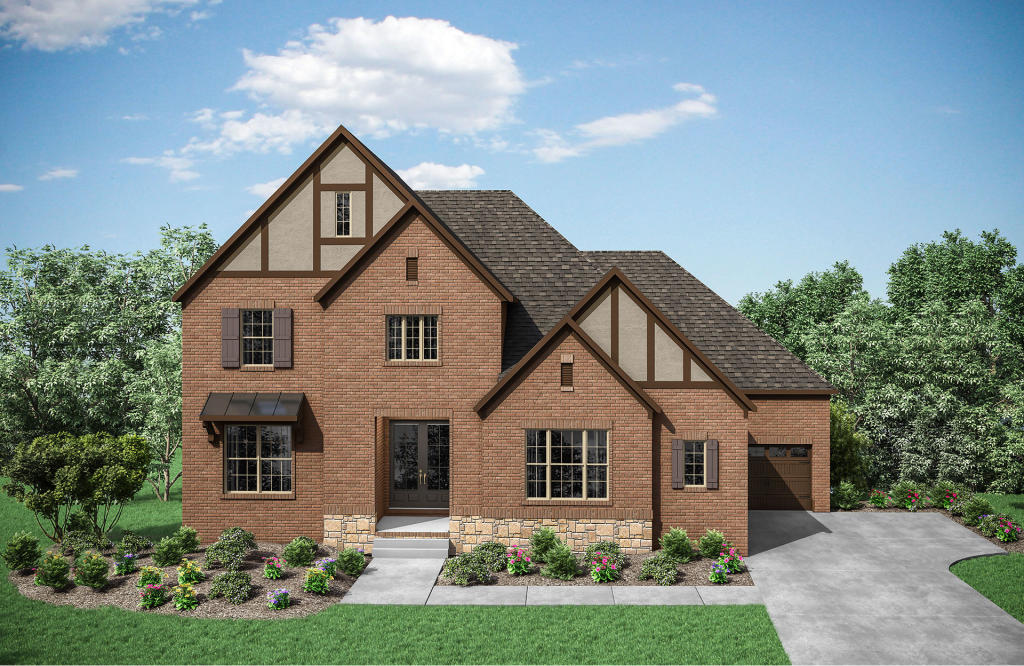 Somerville Plan in Traditions, Brentwood, TN 37027 - 4 Bed ... on