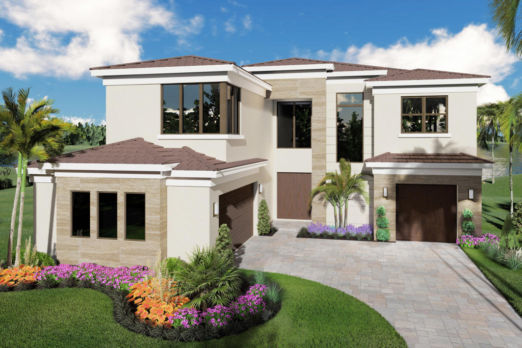 Laguna Plan in Lotus, Boca Raton, FL 33496 - 5 Bed, 5.5 Bath ... on swimming pool plans florida, kitchen cabinets florida, townhouse plans florida, open floor plans florida, cottage plans florida,