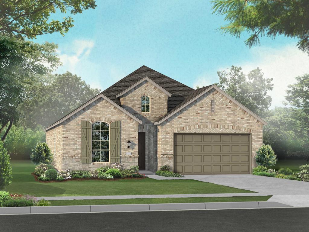 Plan Dorchester in Siena, Round Rock, TX 78665