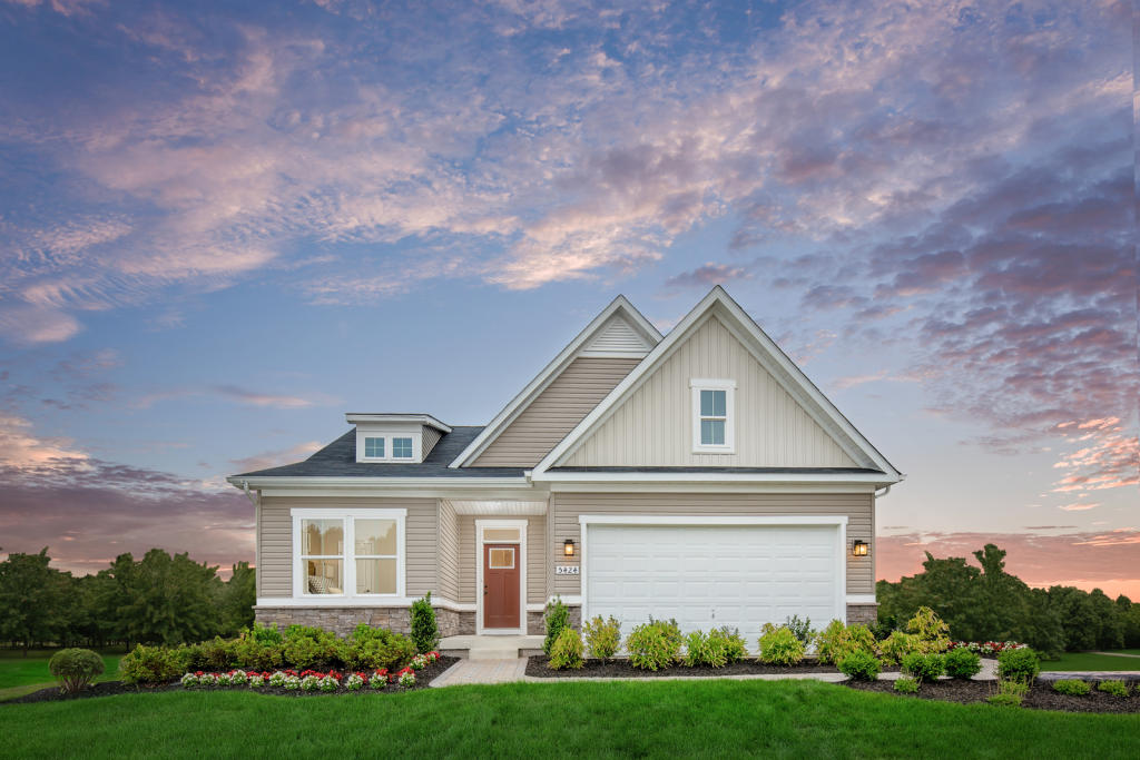 Alberti Ranch Plan in Enclave at Holcomb Woods (55+) ... on