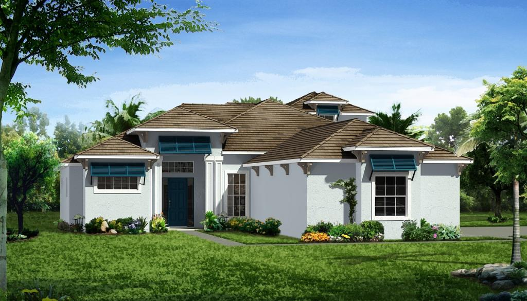 The St. Thomas II Plan in Pine Valley at Indian River Club, Vero Beach, FL 32962