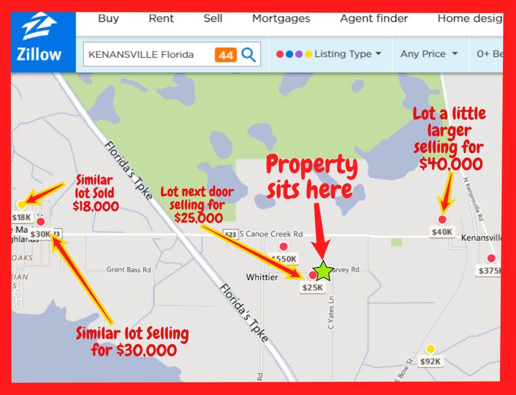 Kenansville Florida Map.0 Harvey Rd Kenansville Fl 34739 Trulia