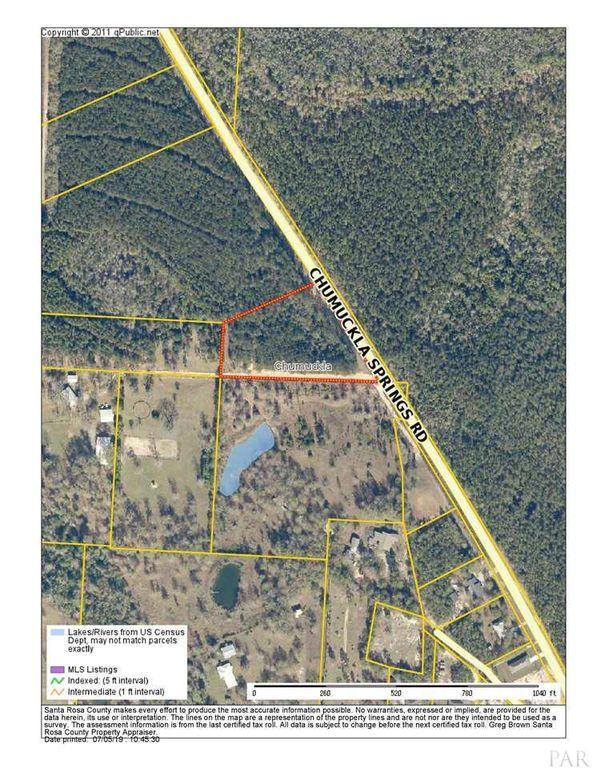 9901 Chumuckla Springs Rd, Jay, FL 32565 - Lot/Land - MLS# 556990   on map of enterprise alabama, map gainesville fl, mapquest of jay fl, map of jay ok, map of central florida, map of jay vt, map of jay ny, map of georgia and florida,
