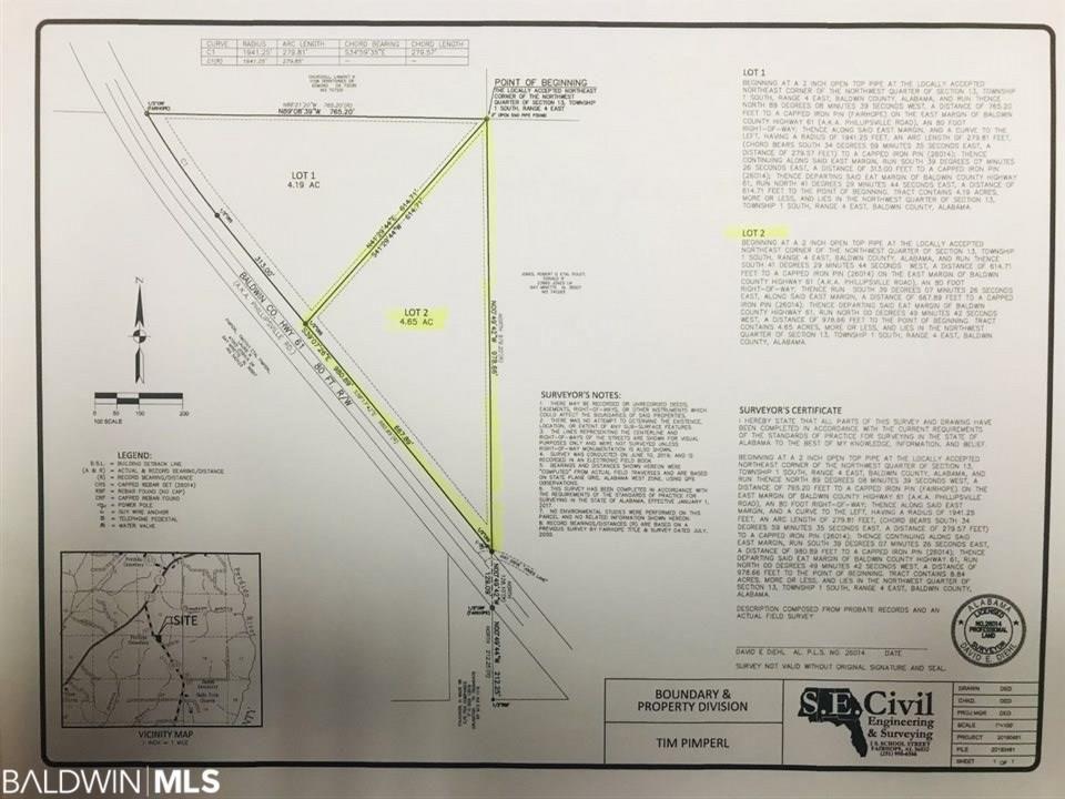 2 Phillipsville Rd, Bay Minette, AL 36507 - Lot/Land - MLS# 287792 - 5  Photos   Trulia