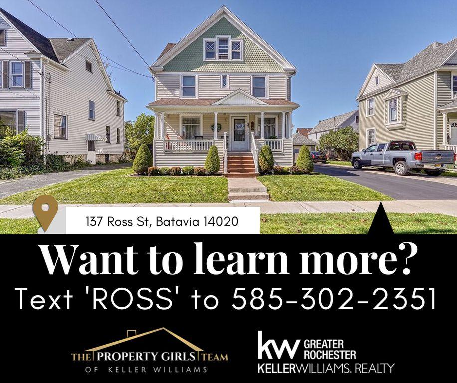 137 Ross St, Batavia, NY 14020 - 4 Bed, 3 Bath Single-Family Home - MLS#  R1230197 - 67 Photos   Trulia