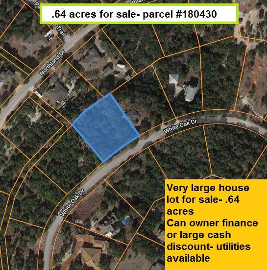 7613 White Oak Dr, Lago Vista, TX 78645 - Lot/Land - MLS# 7818569 - 7  Photos | Trulia