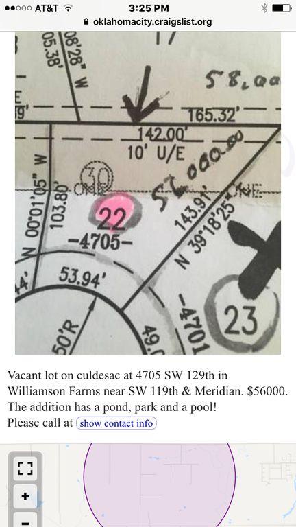 Craigslist Norman Ok >> 4705 Sw 129th St Oklahoma City Ok Lot Land Trulia