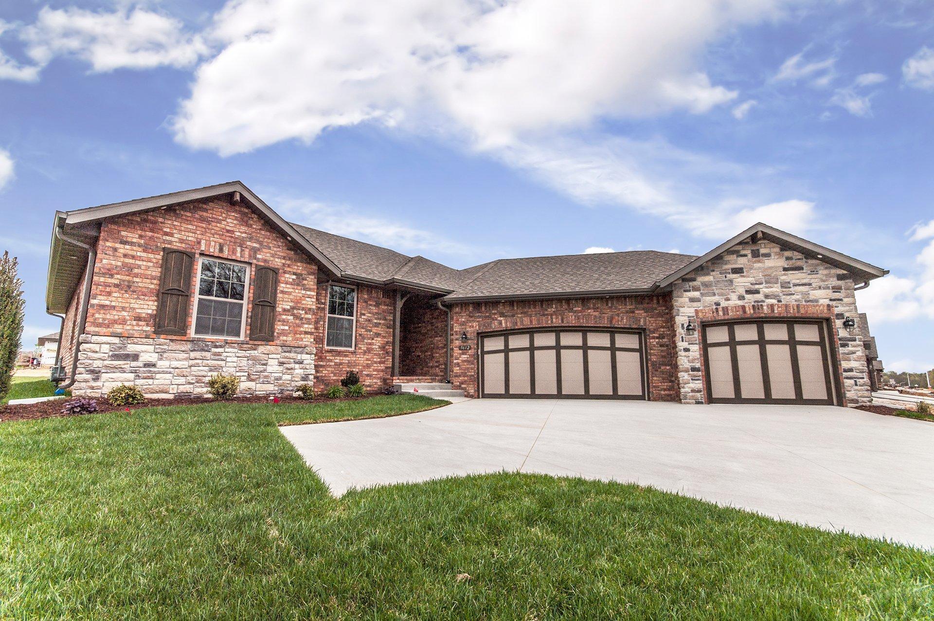 Shelby Angled Garage Plan in Eagle Ridge Estates, Nixa, MO ... on