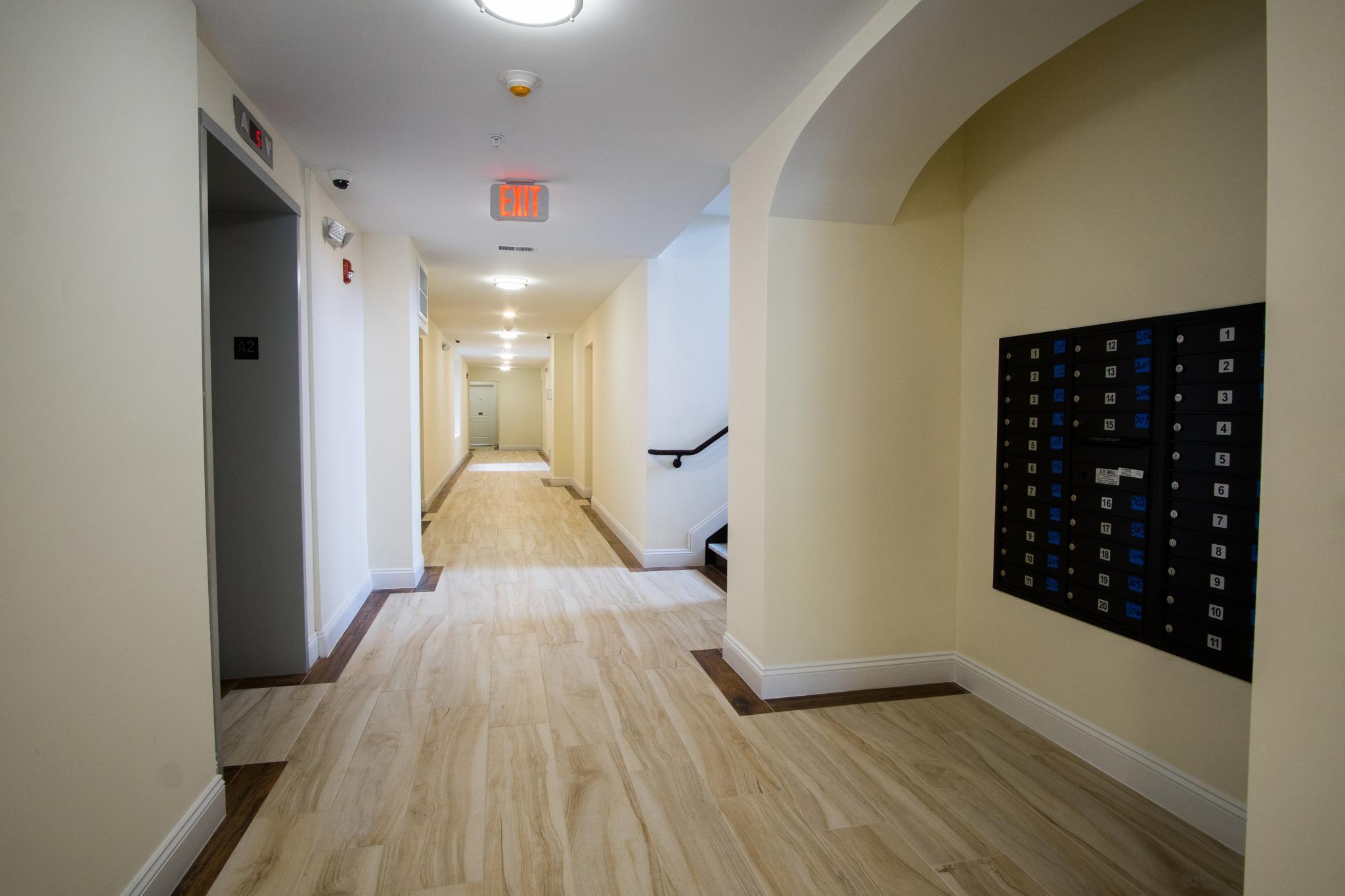 Ark Wood Elevator 103-105 north walnut apartments